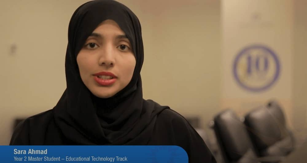 Student Testimonial – Sara Ahmad